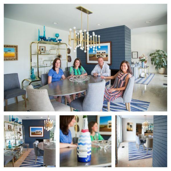 blue door palm springs dining room flytographer