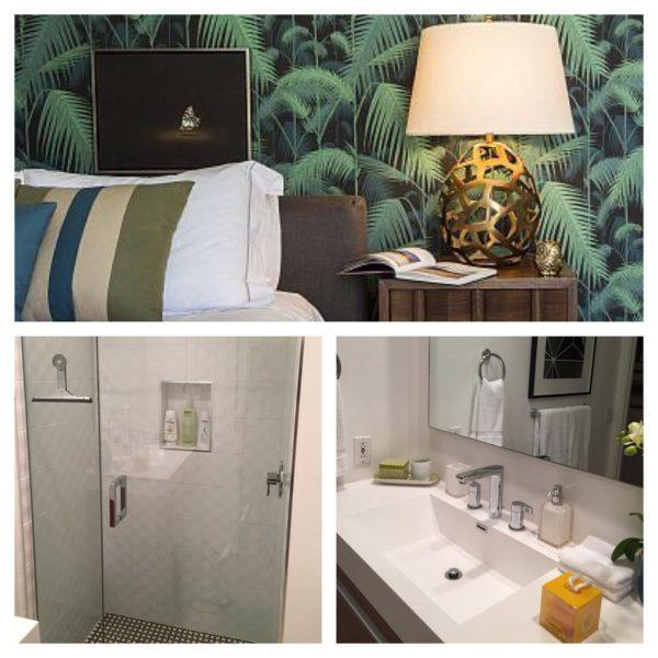 blue door palm springs green bedroom bathroom jonathan adler