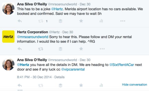 hertz car hire twitter merida mexico 1