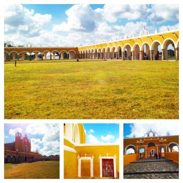 izamal town yucatan mexico