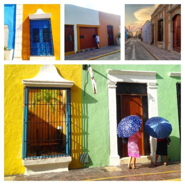 luxury hotel Mexico marriott the haciendas luxury collection campeche mexico colourful houses
