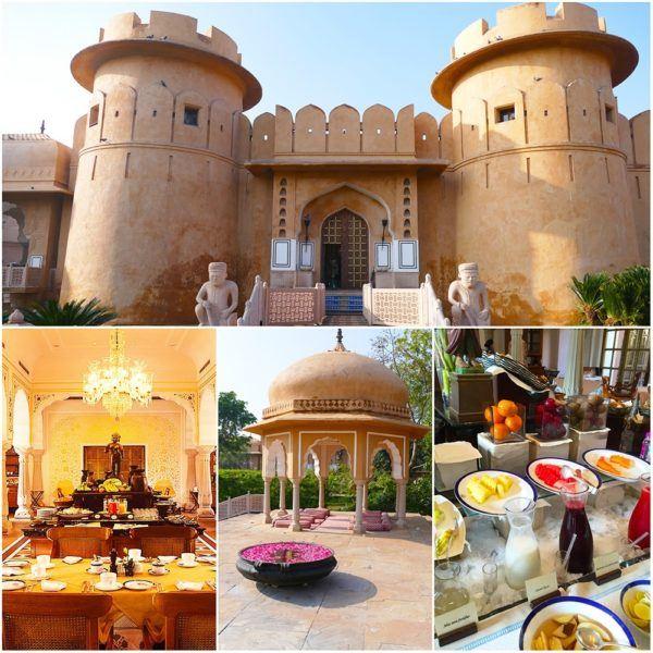 Oberoi Rajvillas Jaipur India breakfast