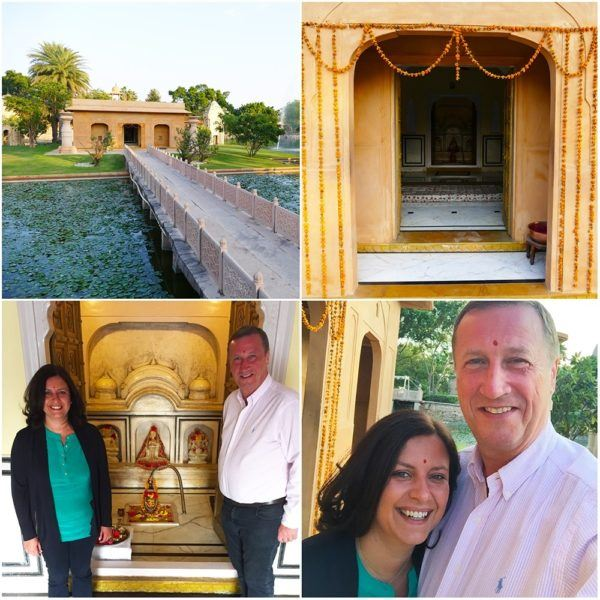 Oberoi Rajvillas Jaipur India wedding ceremony blessing