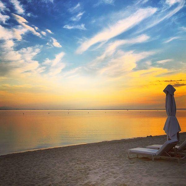 ikos olivia hotel halkidiki sovereign luxury travel beach sunset