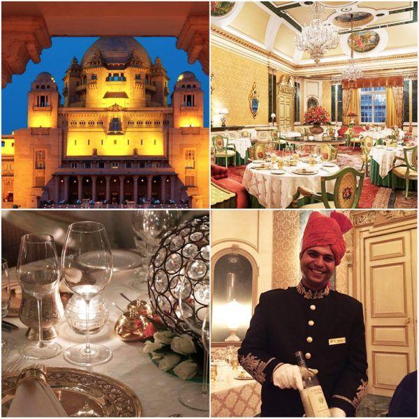 suvarna mahal taj rambaugh palace fine dining cakebread wine jaipur india