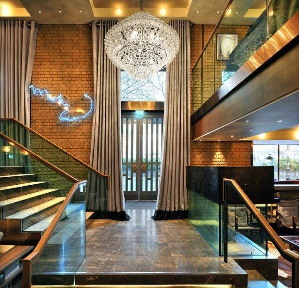 thompson belgraves london hotel reception stairs luxury travel blogger