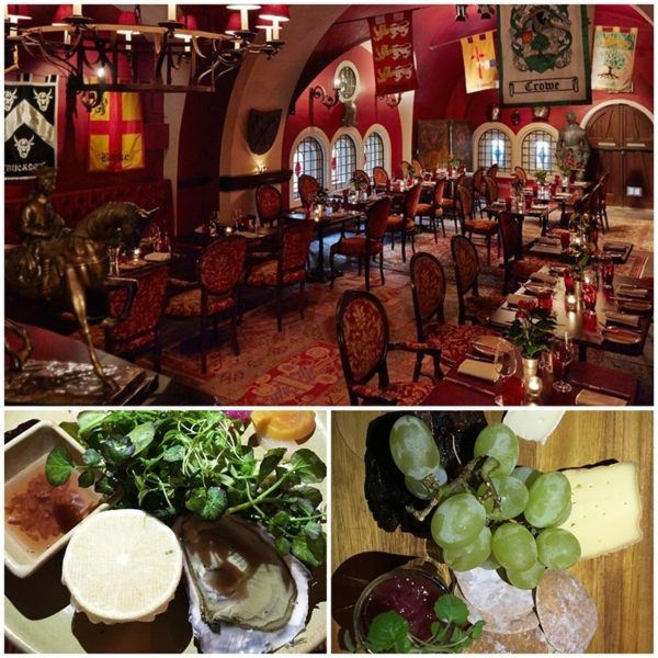 ashford castle luxury hotel ireland dungeon restaurant dinner