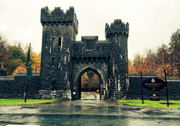 ashford castle luxury hotel ireland entrance