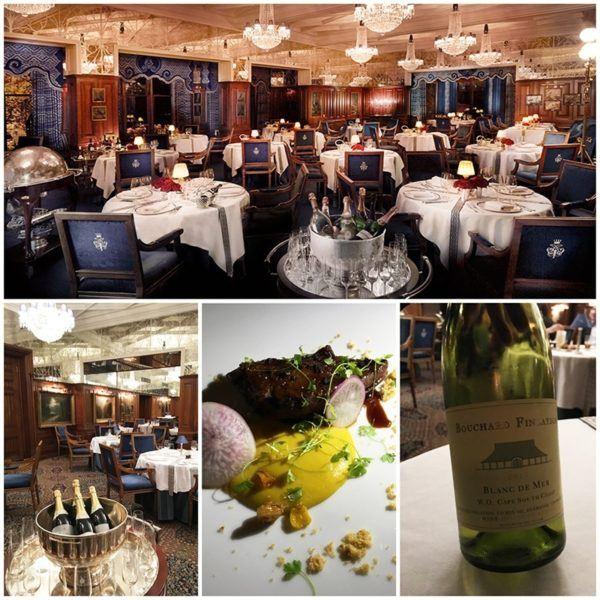 ashford castle luxury hotel ireland georges v fine dining restaurant dinner