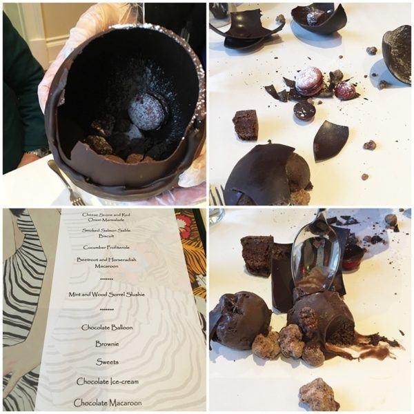 ashford castle luxury hotel ireland lodge wildes chocolate afternoon tea