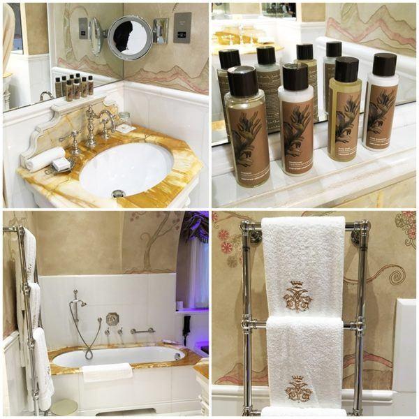 ashford castle luxury hotel ireland stateroom bedroom bathroom details voya organic