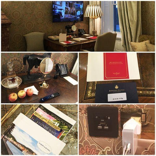 ashford castle luxury hotel ireland stateroom details