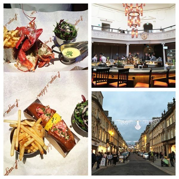 luxury weekend in bath england burger and lobster restaurant