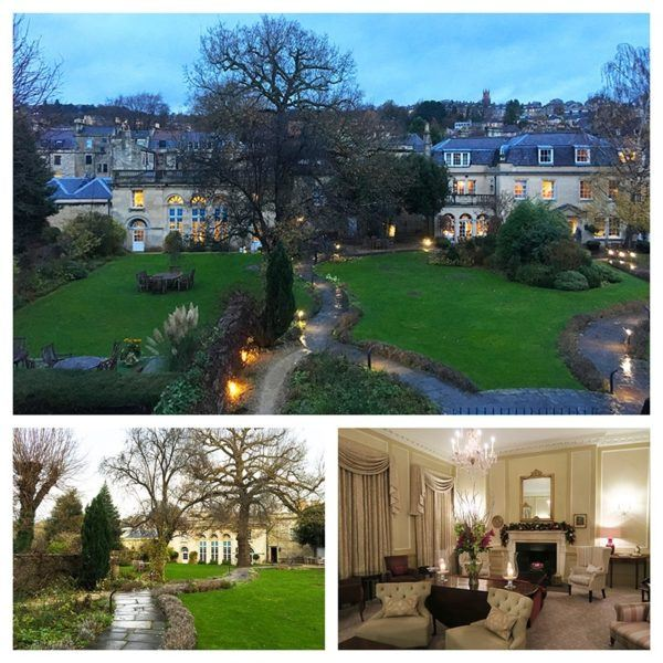 luxury weekend in bath england royal crescent hotel relais chateau garden