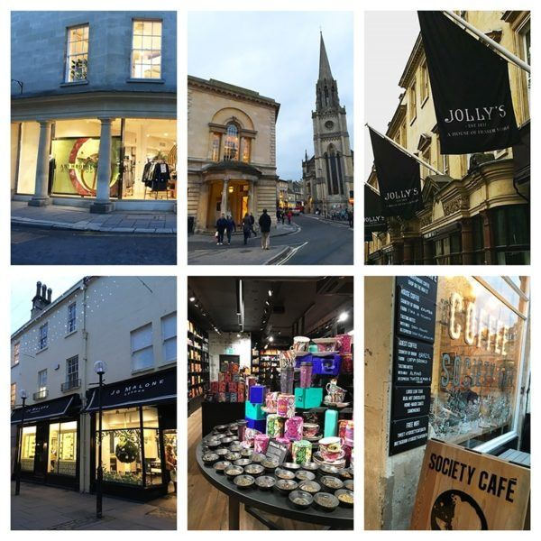 luxury weekend in bath england shopping jollys house of fraser jo malone anthropologie t2 tea shop society caffe