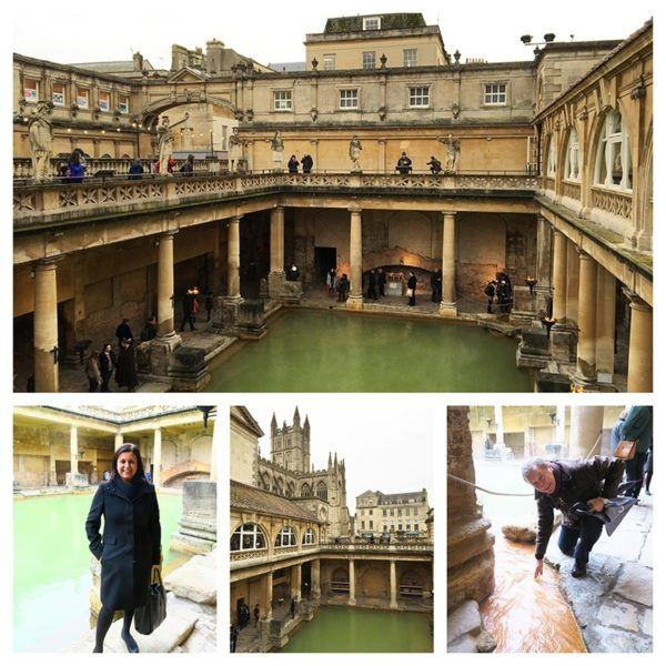 roman baths Bath Christmas market uk city break
