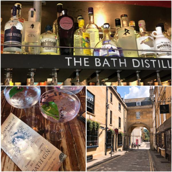 the canary gin bar bath uk city break