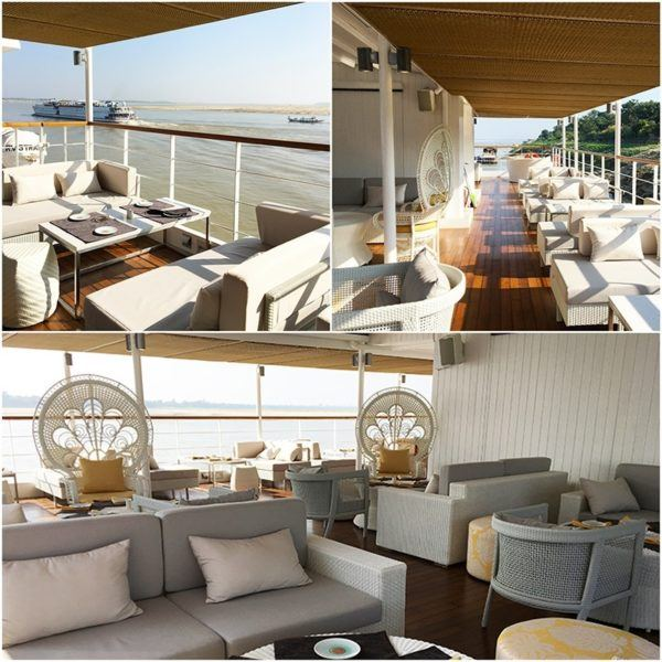 strand cruise myanmar bagan to mandalay luxury deck bar