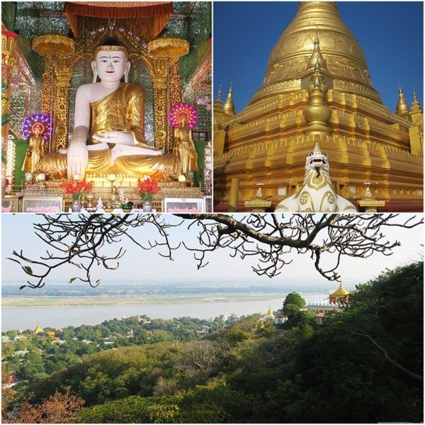 strand cruise myanmar bagan to mandalay luxury sagaing pagoda excursion