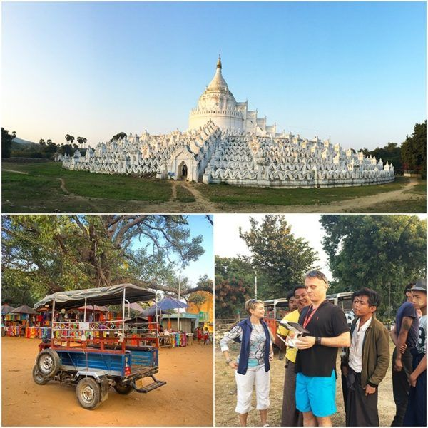 strand cruise myanmar bagan to mandalay mingun white temple excursion