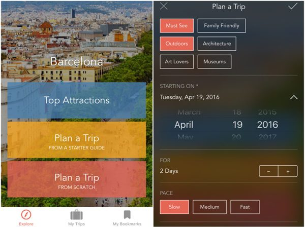 ruebarue travel app review 2
