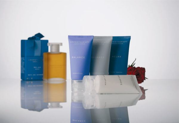 best hotel toiletries aromatherapy associates