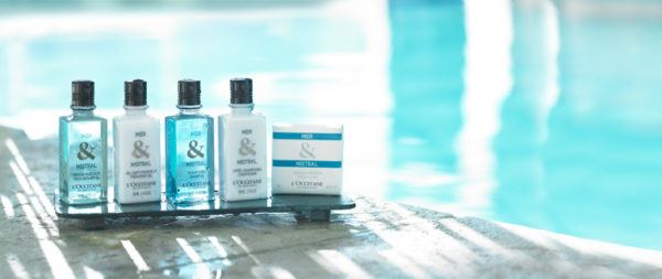 best hotel toiletries loccitane mer and mistral