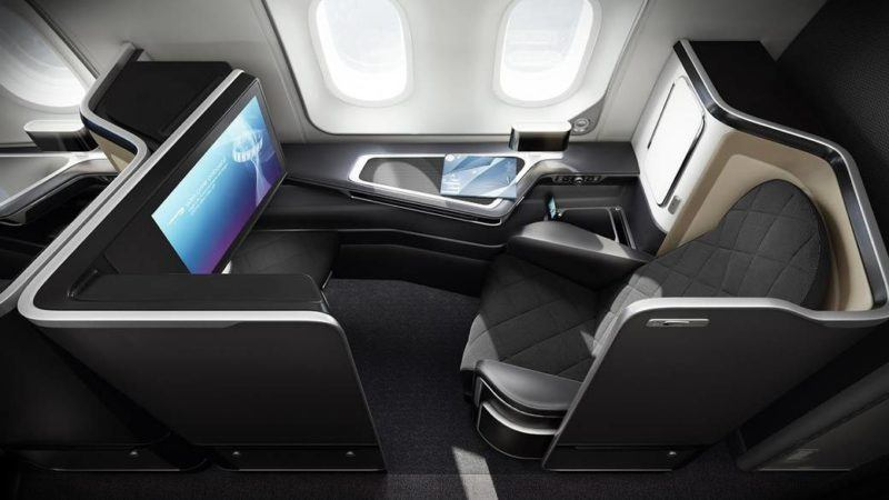 british airways first class seat 2 b 787 dreamliner