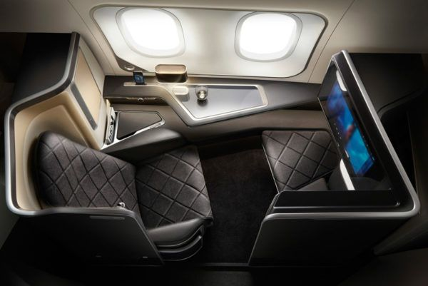 british airways first class seat b 787 dreamliner