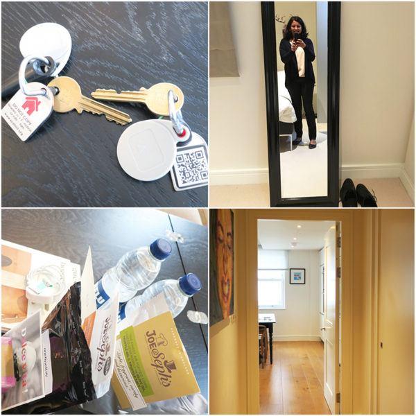 onefinestay london marylebone mayfair james II luxury apartment rental master amenities keys detail