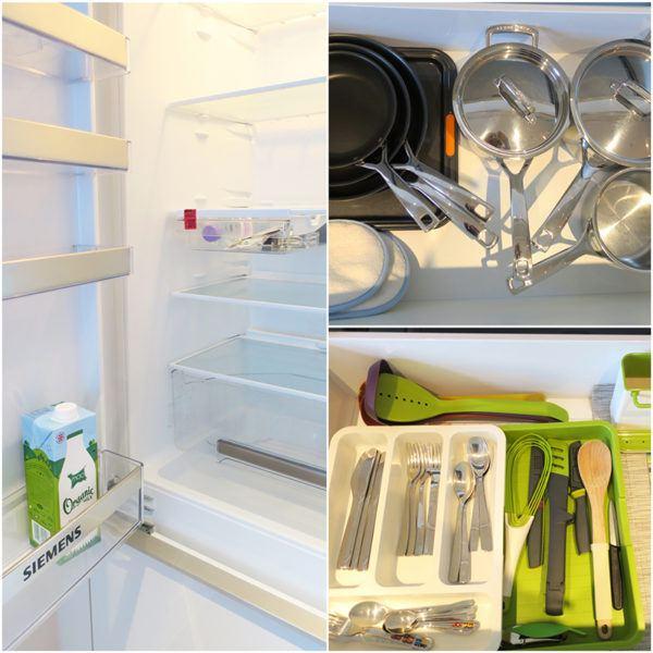 onefinestay london marylebone mayfair james II luxury apartment rental master amenities kitchen details 2