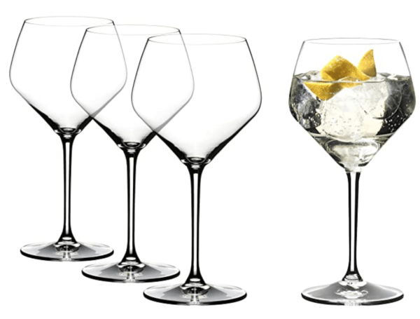 riedel gin classes with stem