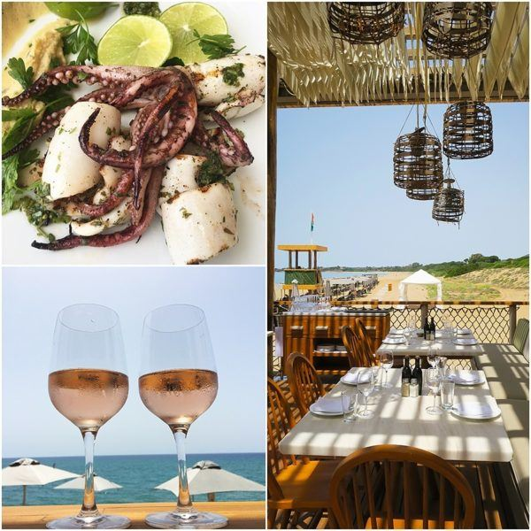The Romanos Luxury Collection Costa Navarino Sovereign Luxury Holidays Barbouni Lunch restaurant 2
