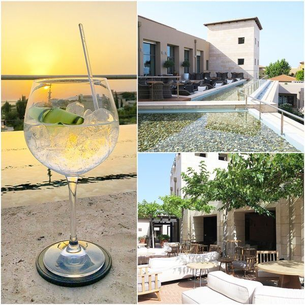 The Romanos Luxury Collection Costa Navarino Sovereign Luxury Holidays gin and tonic bar