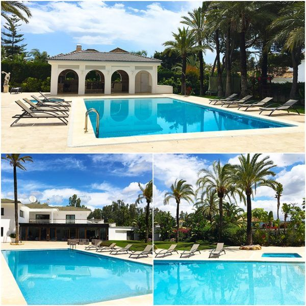 luxury villa collection marbella villa malibu outdoor swimming pool