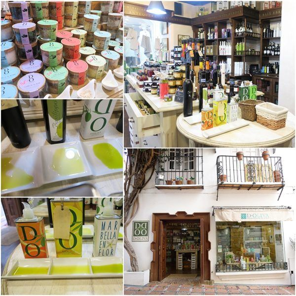 toma tours toma coe private food tour marbella old town doliva olive oil gourmet shop luxury villa collection marbella 2