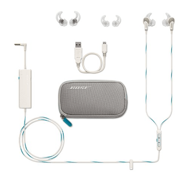 Bose QuietComfort 20 Acoustic Noise Cancelling Headphones for Apple Devices - White