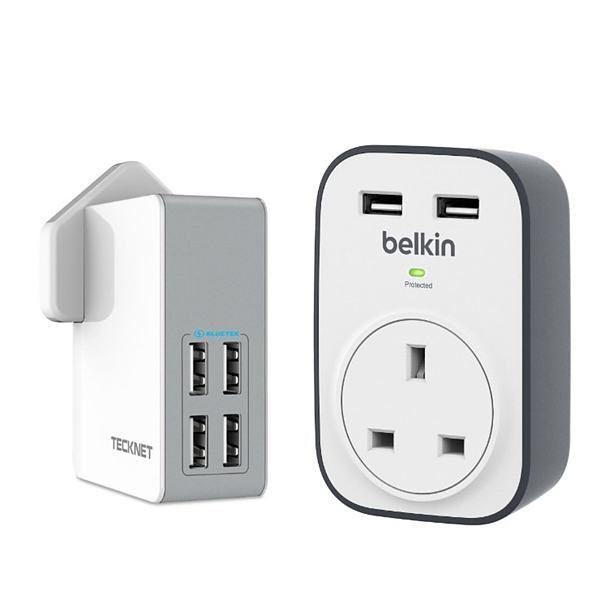 usb plug socket chargers belkin technet