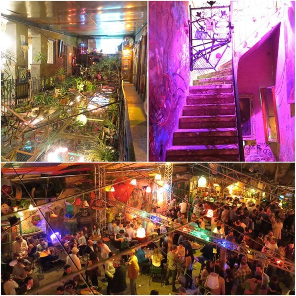 ruin bar Szimpla Kertmosi Budapest city break