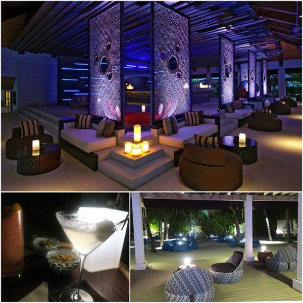 outdoor bar area Maldives holidays