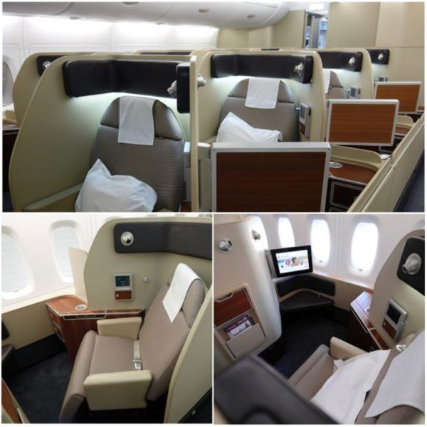 flight review qantas first class 380 dubai to london first class suite 1