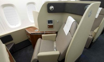 flight review qantas first class 380 dubai to london first class suite 1300