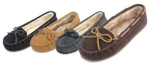 minnetonka-cali-fur-suede-slippers