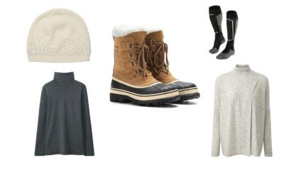 top-5-luxury-ski-apres-ski-clothes-falke-cashmere-sorel-boots-uniqlo-heat-tech-layer-cashmere-beanie-men-women