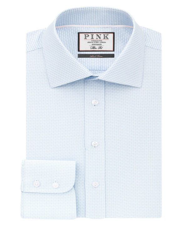 heathrow airport shopping Thomas pink FergusonShirt