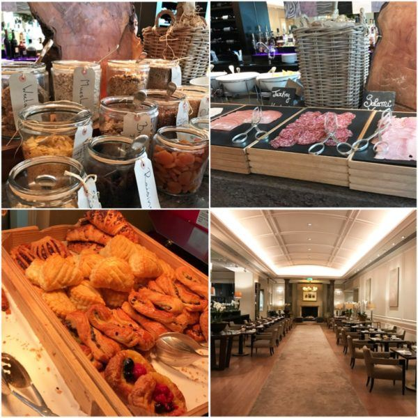 hyatt regency the churchill london luxury hotel breakfast buffet montagu restaurant