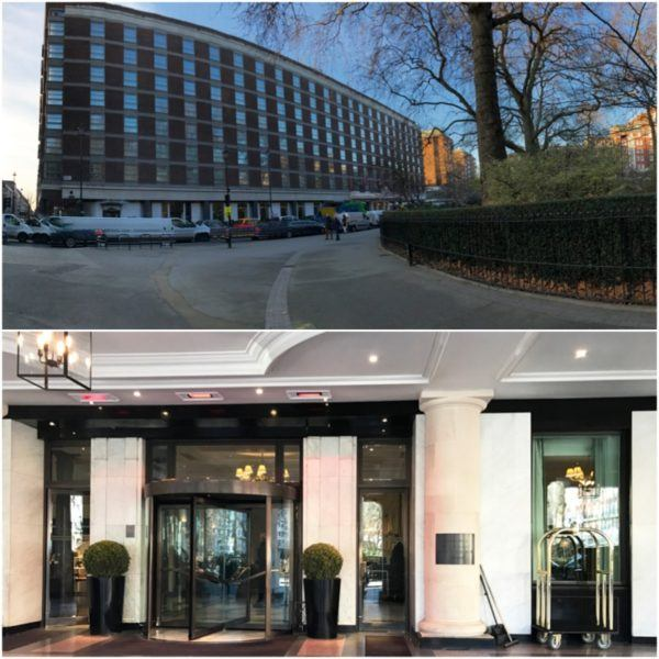 hyatt regency the churchill london luxury hotel entrance 1