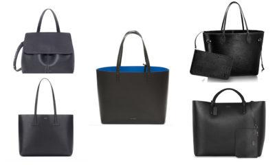 5 tote bags perfect travel black handbag tom ford mansur gavriel smythson louis vuitton