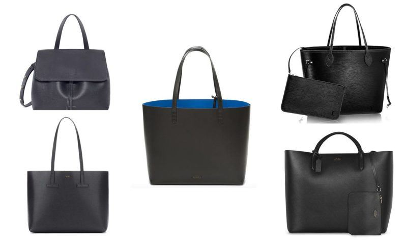 5 tote bags perfect travel black handbag tom ford mansur gavriel smythson louis vuitton