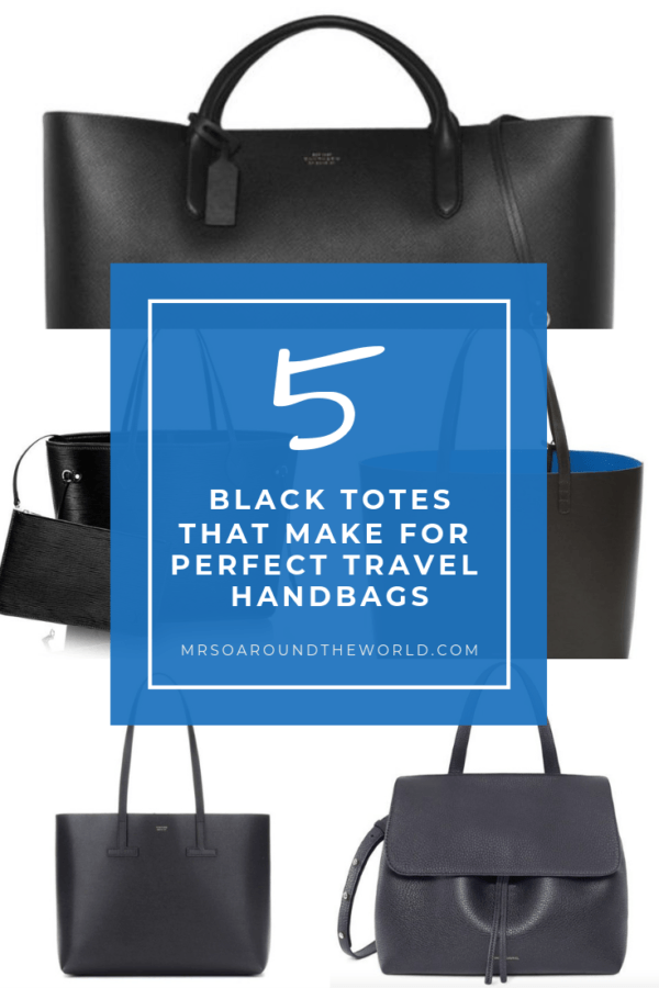 5 of the best black tote bags Travel bags for Women Louis Vuitton Tom Ford